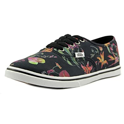 93c14a6a1da Vans Unisex Authentic Lo Pro (Black Bloom)Black True White Sneakers Mens 8.5