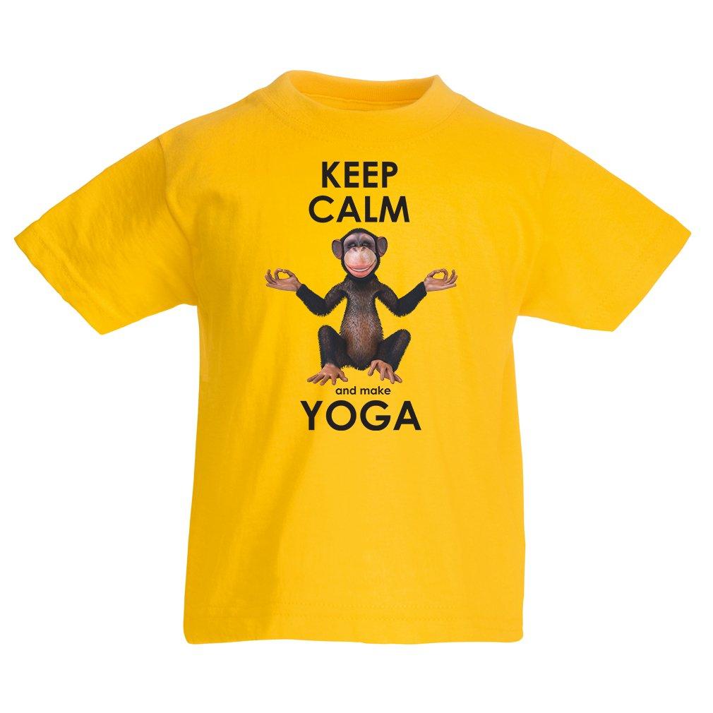 lepni.me Camiseta para Niño/Niña Mantenga la Calma y Haga ...