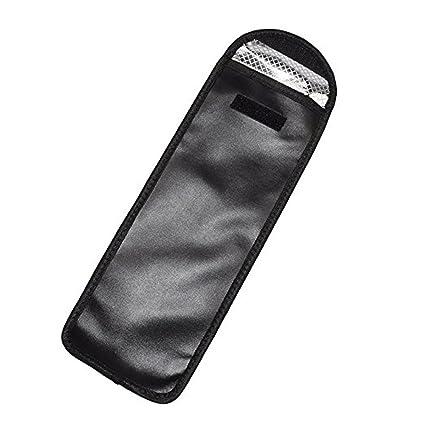 Estuche de PU resistente al calor para las enderezadoras, la cubierta de almacenamiento de hierro plano que se encrespa peines, clips para viajar