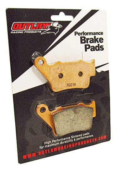 ECCPP fa368 Brake Pads Rear Carbon Fiber Replacement Brake Pads Kits Fit for 2009-2012 Husaberg,2005-2015 Husqvarna,2003-2016 KTM