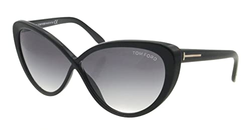 995327403e2e1 Amazon.com  Tom Ford Women s FT0253-01B Madison Black Sunglasses ...