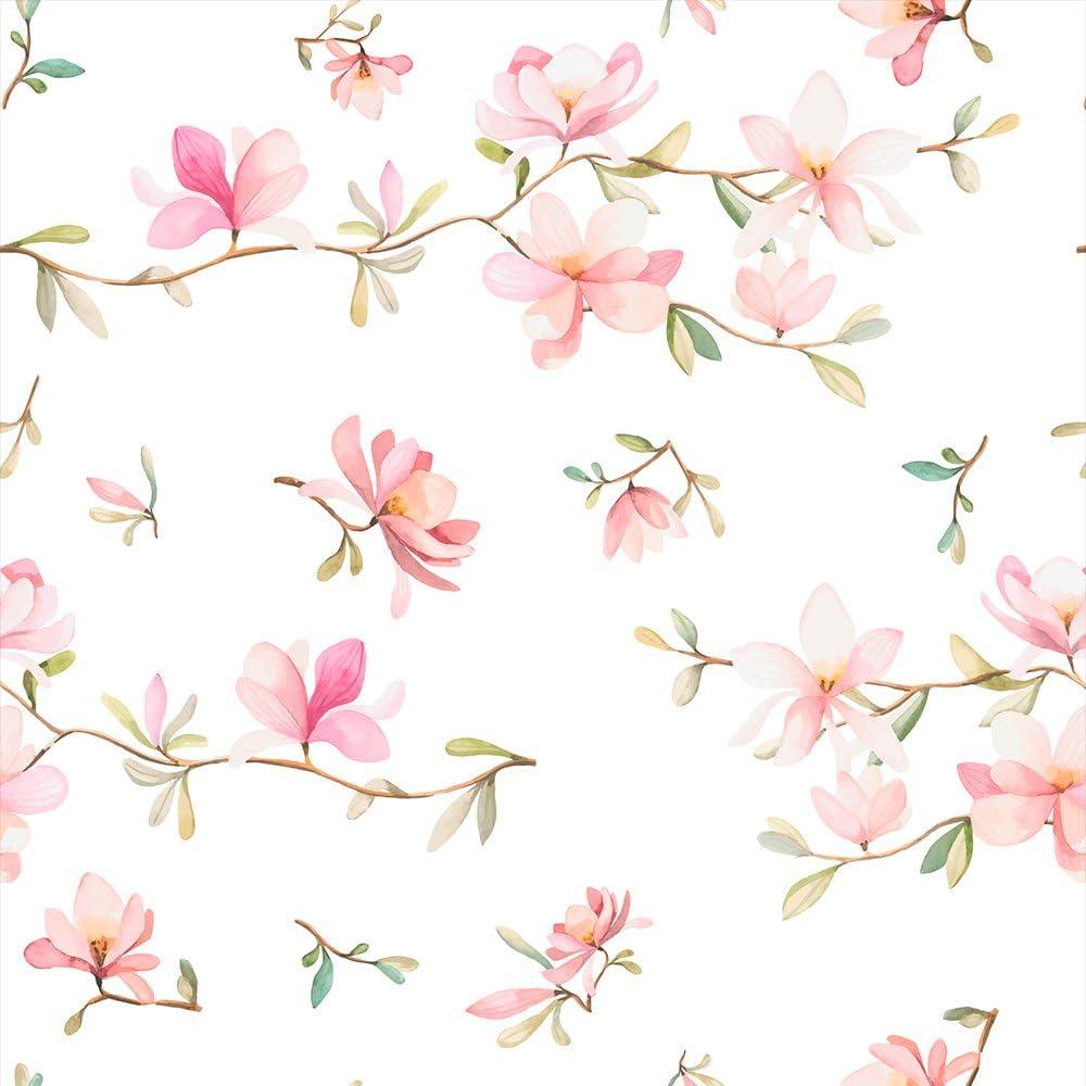 murando Papier peint intiss/é fleurs Magnolia10 m D/écoration Murale XXL Poster Tableaux Muraux Tapisserie Photo Panneau d/écoratif Photo sur le mur Trompe loeil b-B-0313-j-a