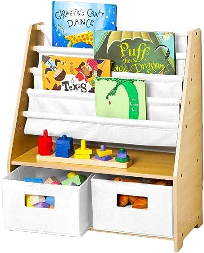 Wildkin Kids Canvas Sling Bookshelf