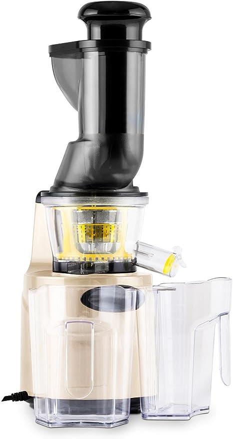 Klarstein Fruitpresso Morena 2G Slow Juicer Licuadora (150W ...