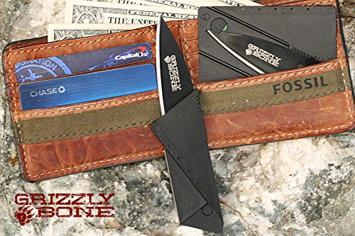 Black-Marine-Force-Recon-Sawback-Bowie-ComboEdge-Self-Defense-Weapon-Ultimate-Survival-Tool-for-Zombie-Apocalypse-Survival-Kit-w-Free-5-in-1-Carabiner-Multitool-Credit-Card-Knife-Survival-Life