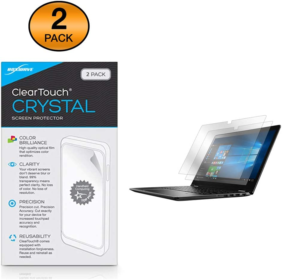Lenovo Flex 4 (15) Screen Protector, BoxWave [ClearTouch Crystal (2-Pack)] HD Film Skin - Shields from Scratches for Lenovo Flex 4 (15)