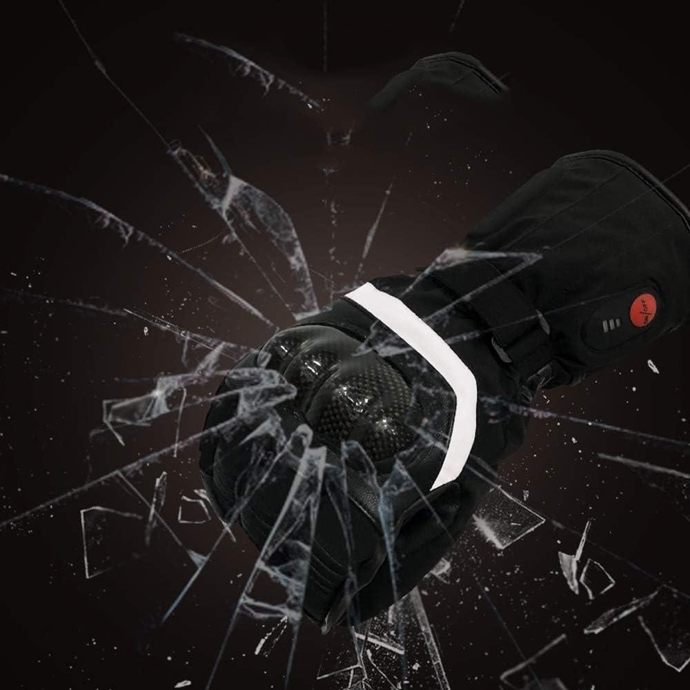 Adapt/és /à La Pratique du Ski JXX Gants Chauffants Antid/érapants Imperm/éables pour lhiver