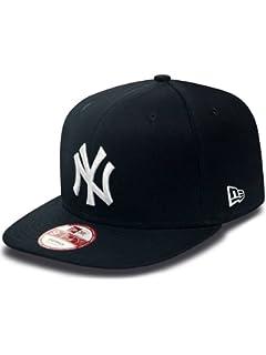 8089f6dde New Era Men's MLB Cotton Block NY Yankees 9Fifty Snapback Baseball ...