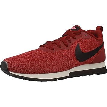 Nike Calzado Deportivo Para Hombre, Color Rojo, Marca, Modelo Calzado Deportivo Para Hombre MD Runner 2 Eng Mesh Rojo: Amazon.es: Deportes y aire libre