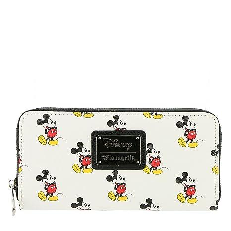 Cartera Tarjetero Cremallera Licencia Disney Diseño Mickey Mouse