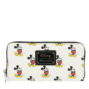 Cartera Tarjetero Cremallera Licencia Disney Diseño Mickey Mouse: Amazon.es: Equipaje