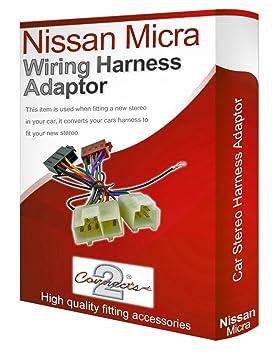 nissan micra cd radio stereo wiring harness adapter amazon co uk rh amazon co uk Car Stereo Wiring Colors Sony Car Stereo Wiring Diagram