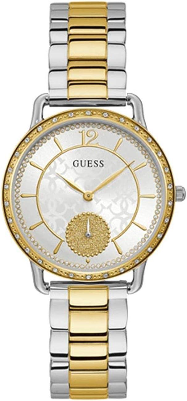 Reloj GUESS Dorado Y Plateado con Cristales Swarovski