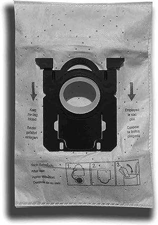 10 bolsas para aspiradora Philips FC 8021/03, 8022/01, 8027/03 ...