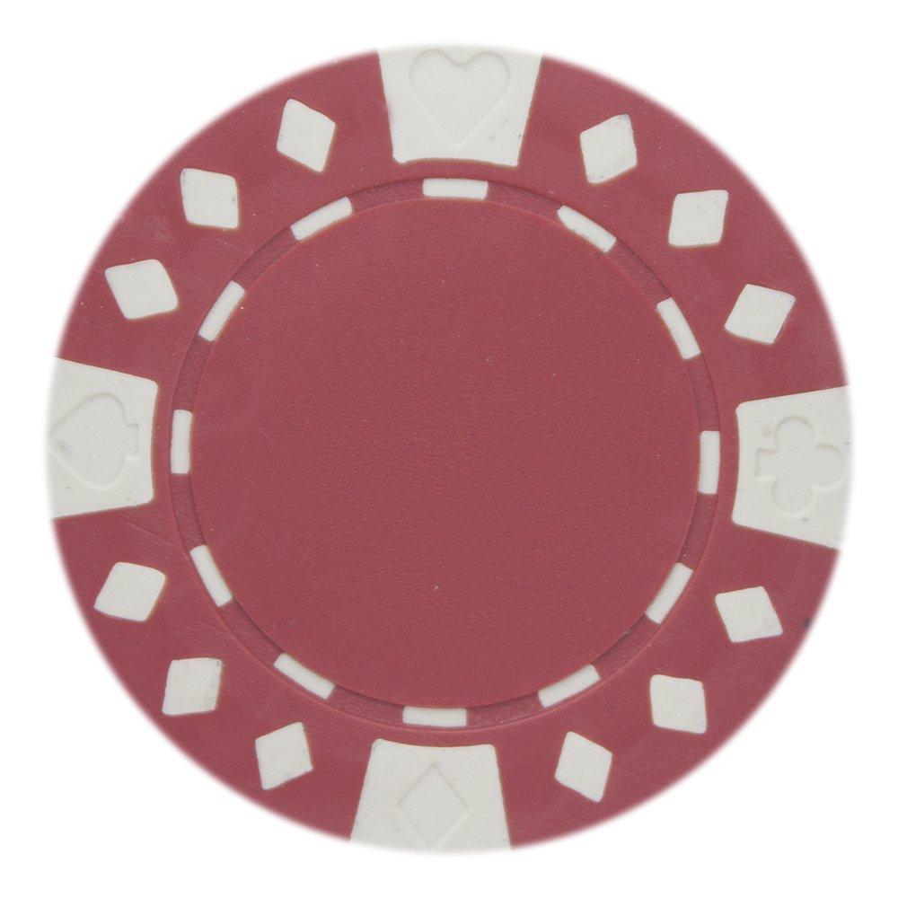 Brybelly Sabot de diamant adapté jetons de poker 11.5-gram Argile Composite–Lot de 50 Green