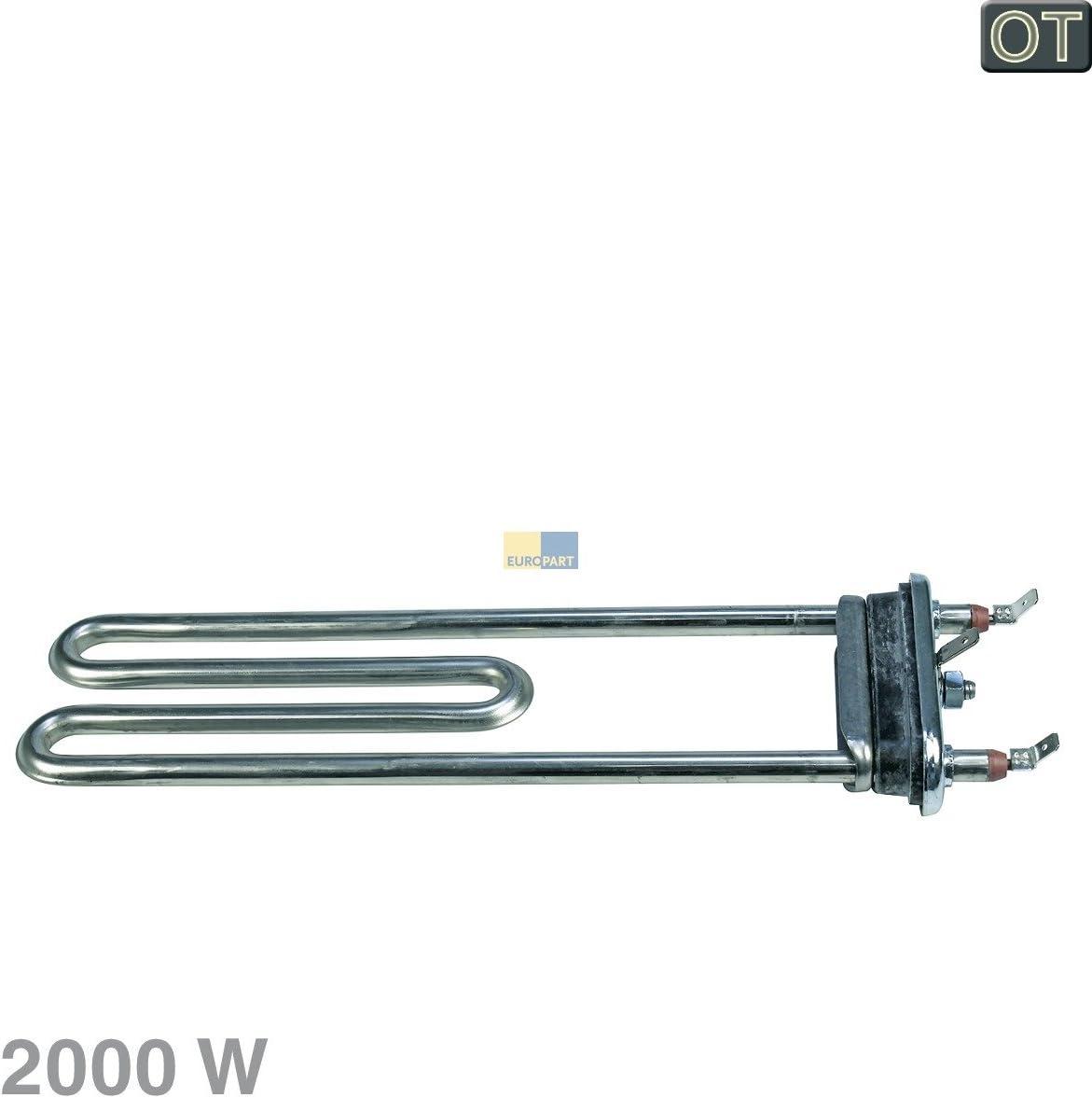 ORIGINAL Calefacción Resistencia Calentador 2000W Lavadora Bosch ...