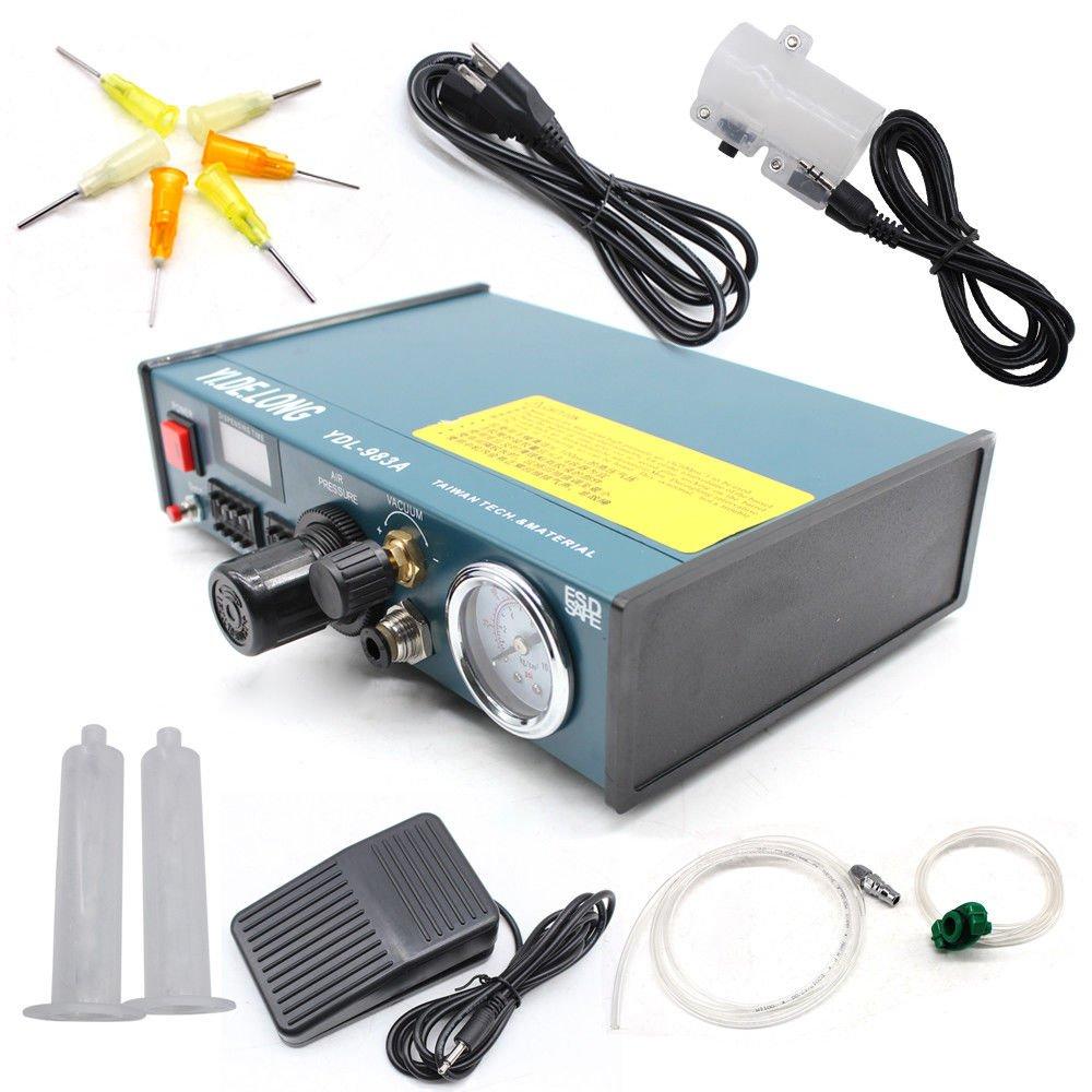 Details about YDL-983A Solder Paste Glue Dispenser Dropper Liquid Auto Dispenser Controller