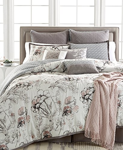 Kelly Ripa Home Pressed Floral 10 Piece Reversible Comforter Set   Queen