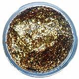 Snazaroo Face Paint 12ml Face - Body Glitter Gel, Red Gold