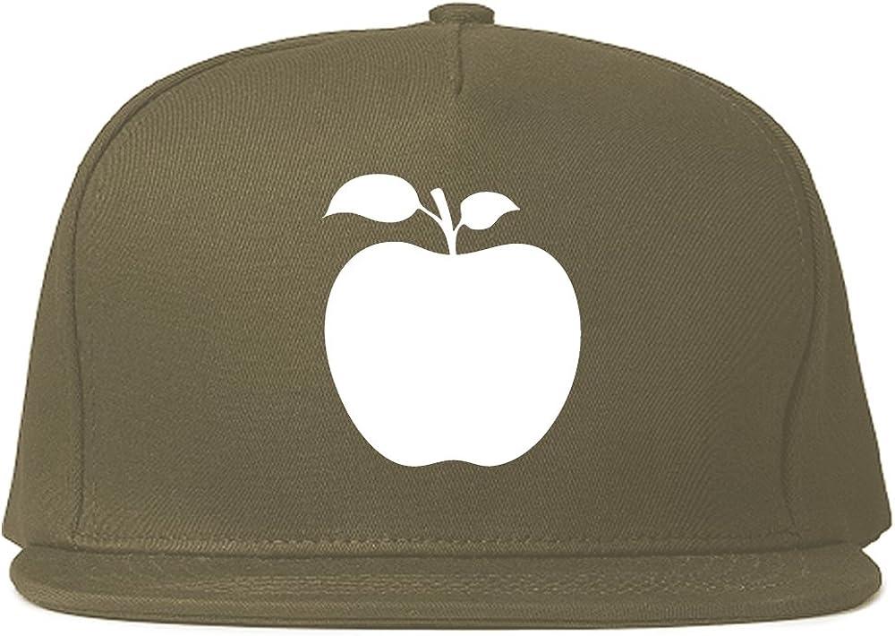 Apple Chest Logo Snapback Hat Cap