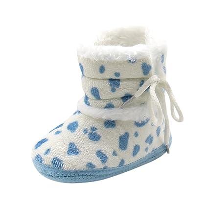 Zapatos Bebé Invierno, Amlaiworld Botines De Bebé recién Nacidos Niña niño Botas de Nieve Zapatos