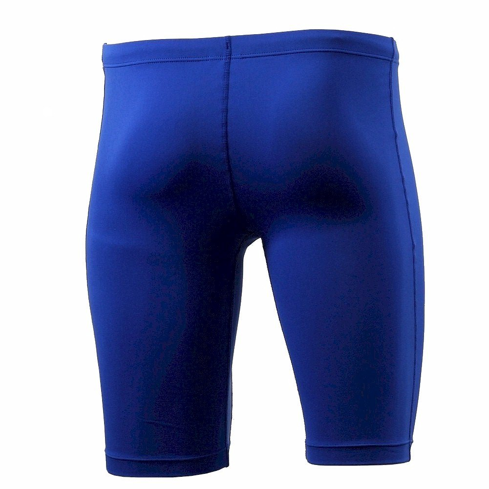 online store eb9d3 52ba0 Amazon.com  Nike Men s Poly Core Solids Jammer Swimsuit Game Royal  Performance Swimwear  Clothing