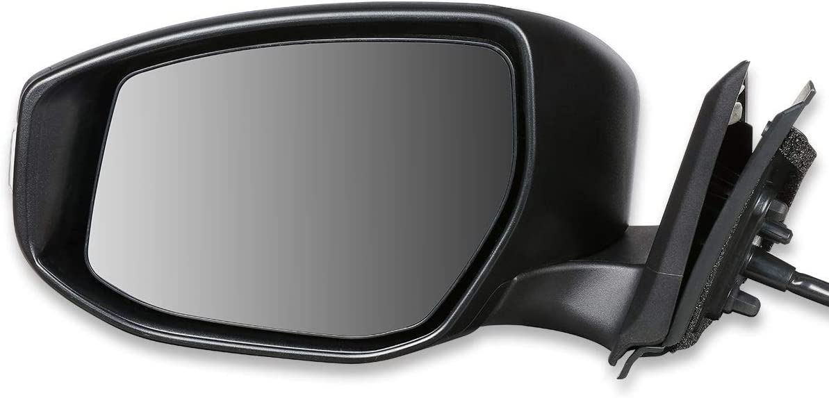 DNA MOTORING OEM-MR-NI1320224 Factory Style Powered+Turn Signal Left Side Door Mirror 61B2BYQeGRiL