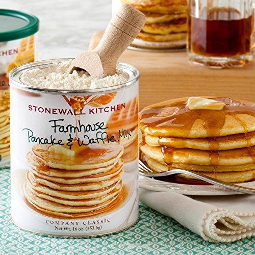 Stonewall Kitchen Farmhouse Pancake and Waffle Mix, 16 Ounce Can by Stonewall Kitchen (Image #1)