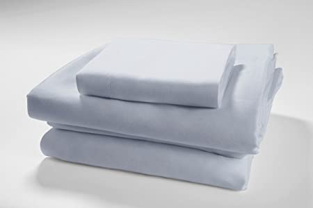 "Peacock Alley Queen Sheet Set 4PC 100/% Crisp Supima Cotton Percale White 18/"" New"
