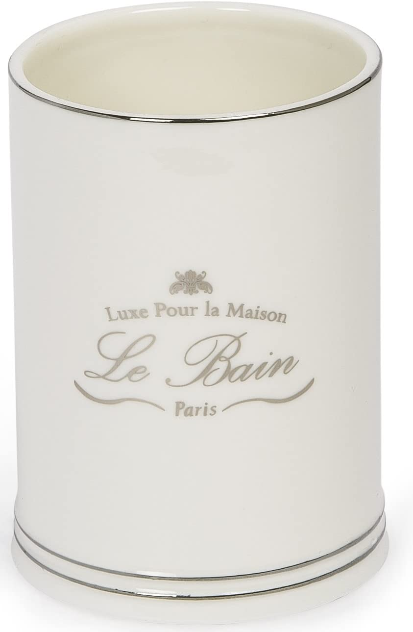Large Canister Kassatex Le Bain Collection Bathroom Accessories