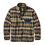 Patagonia Fleece Snap Best Deals - Patagonia Mens Synchilla Snap-T Fleece Pullover (Large, Forest Carpet: Industrial Green)