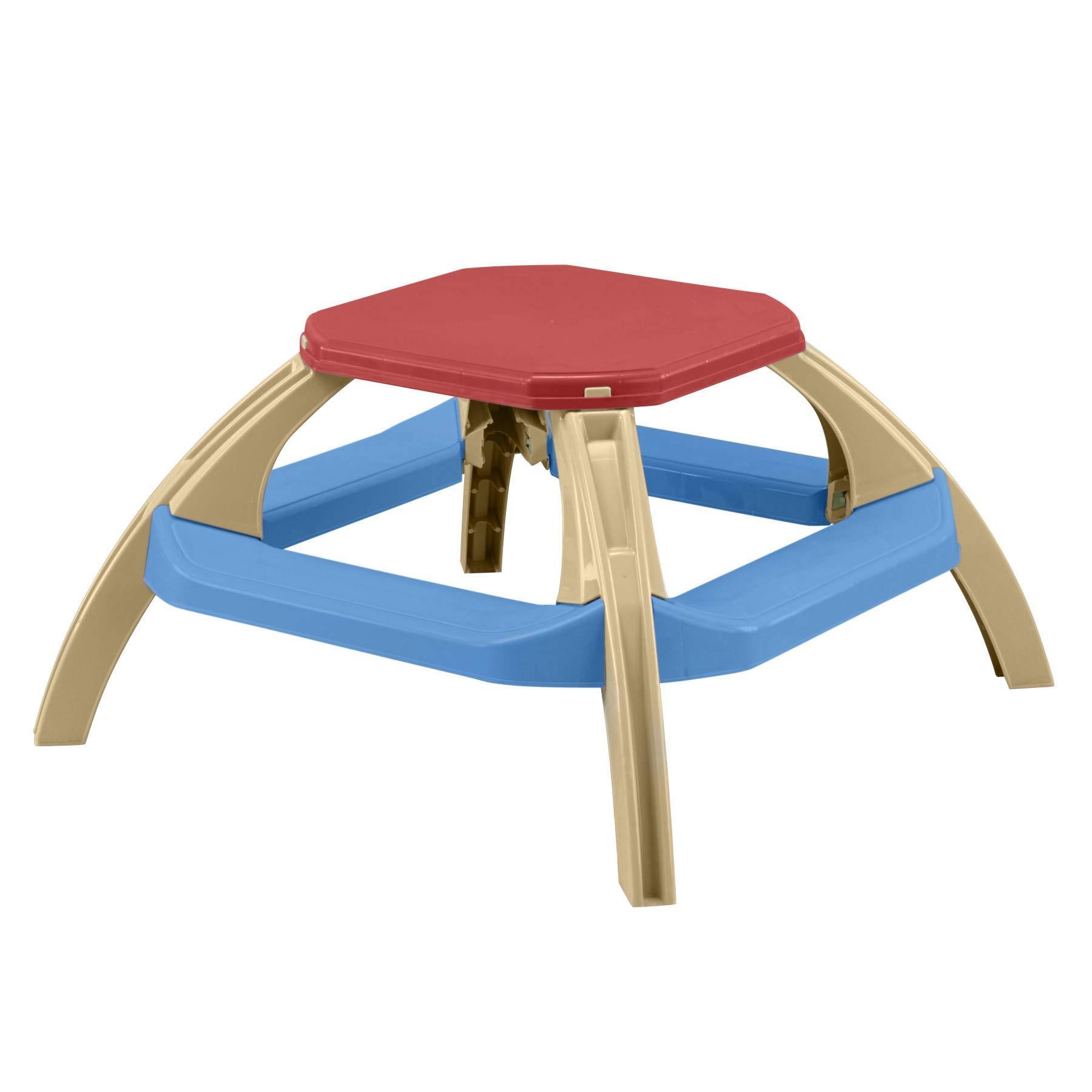 American Plastic Toys Kids Picnic Table Colors May Vary by American Plastic Toys