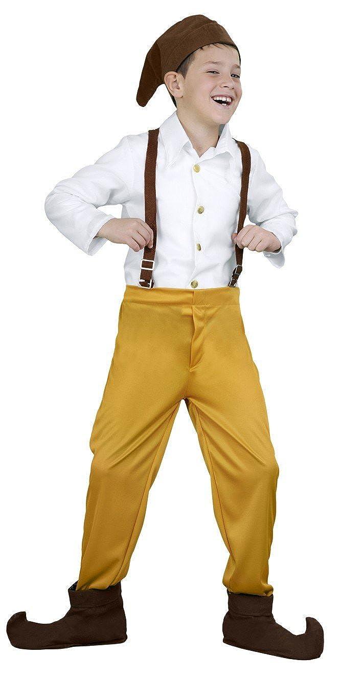 Disfraz de Enanito de 5-6 años: Amazon.es: Ropa y accesorios
