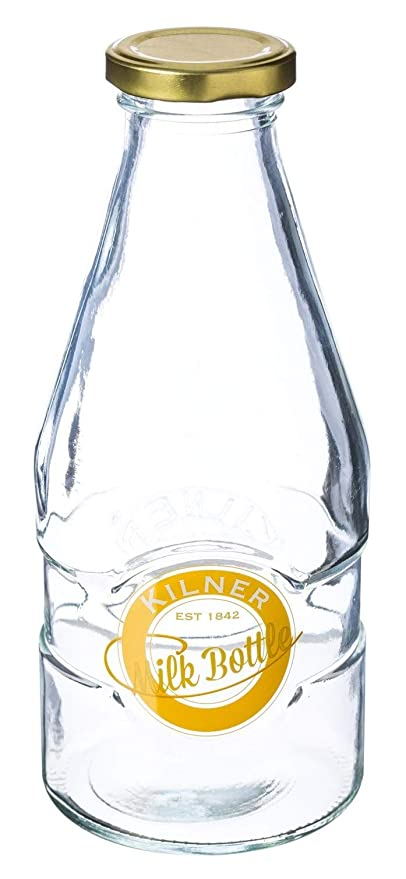KILNER 1 Botella de Leche 0,6 L - de Estilo Retro