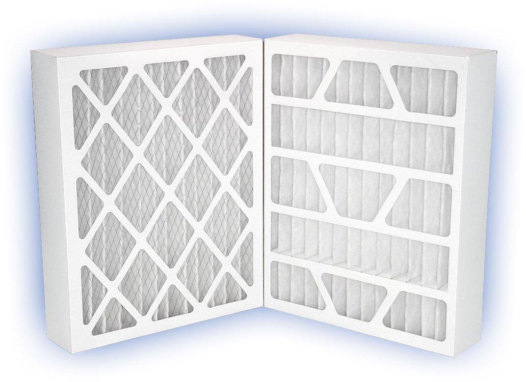 PowerGuard Pleated Panel Filter MERV 11 4-Pack 16x25x4 15-1//2x24-1//2