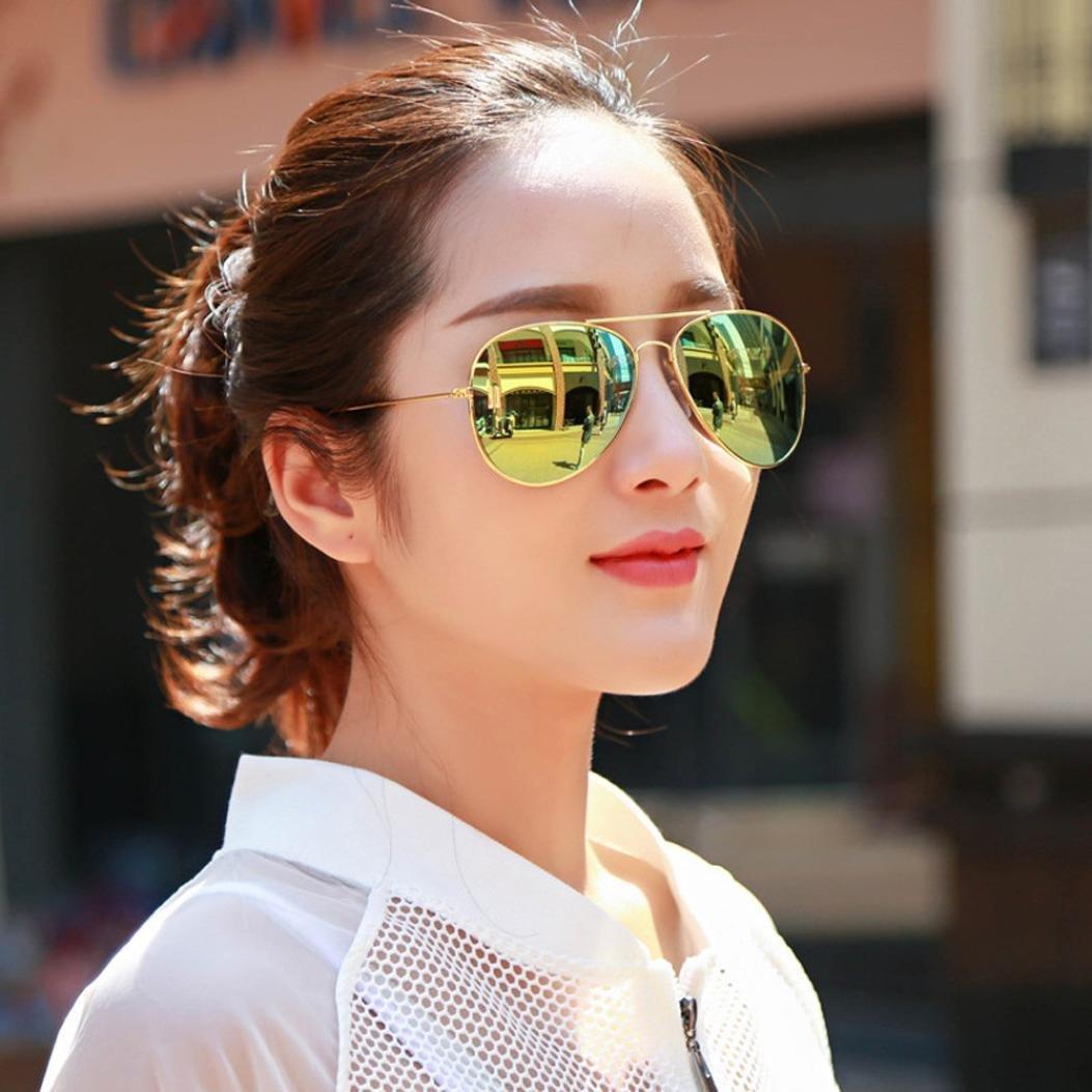 Sonnenbrille Linse Glasses Xinan Hei/ße M/änner und Frauen Classic Metal Designer Sonnenbrillen