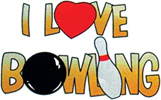 product image for I Love Bowling Towel by Master