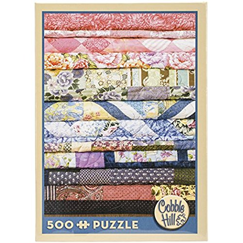 Cobble Hill Quilts 500 Piece Jigsaw Puzzle Outset Media OM52047