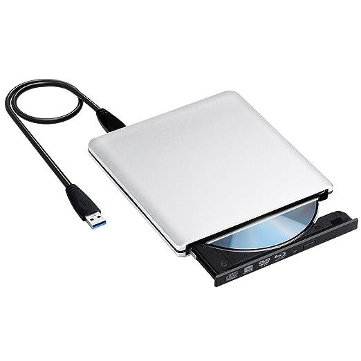 15 opinioni per Masterizzatore Blu-ray Esterno USB 3.0 UJ272, VicTsing Lettore Blu-ray Unità CD