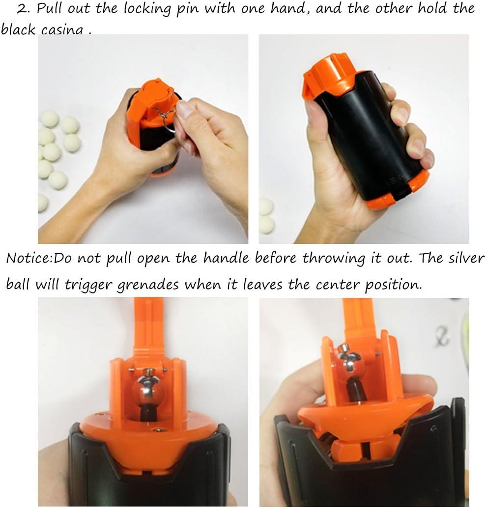 Grenade de leau Water Bullet Bomb Grenade /à Jouet Jeu pour Nerf Rival Jo332Bertram Grenade /à Jouet