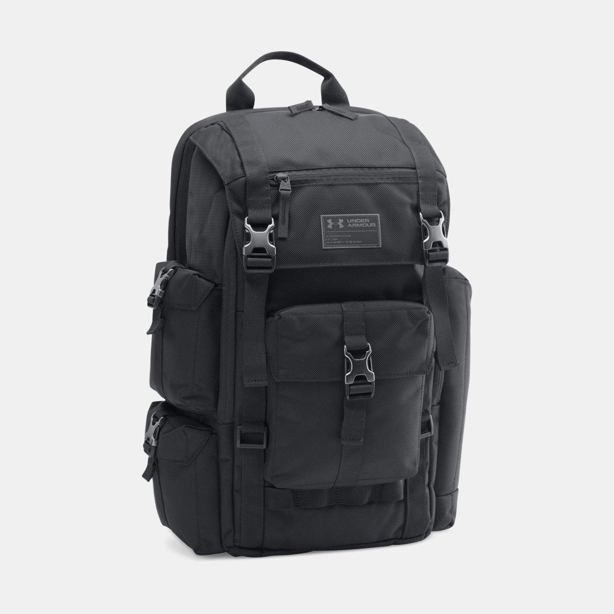 [UNDER ARMOUR] アンダーアーマー Men's UA CORDURA Regiment Backpack [並行輸入品]  ブラック B0753DG4ZY