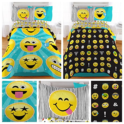Emoji Bedding Twin Beds
