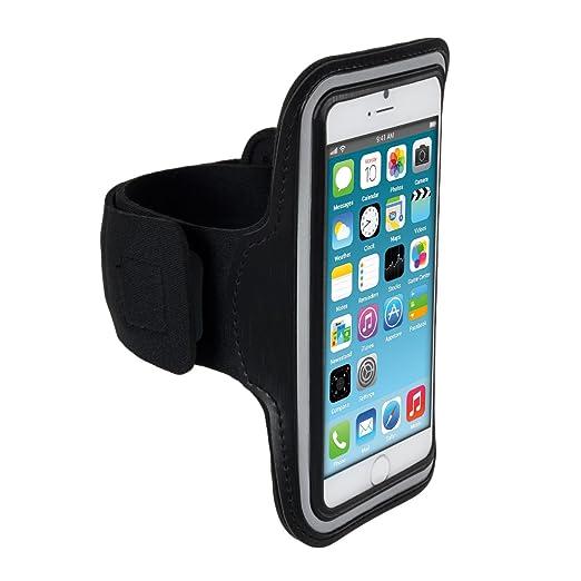 53 opinioni per kwmobile fascia da braccio sportiva per Apple iPhone 6 / 6S / 7- jogging corsa
