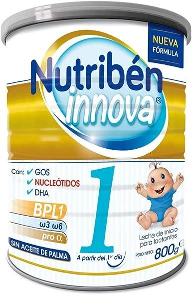 Nutribén - Leche para Lactantes Innova 1 desde el primer día - 800 gr.