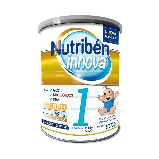 Nutribén - Leche para Lactantes Innova 1 desde el primer día - 800 ...
