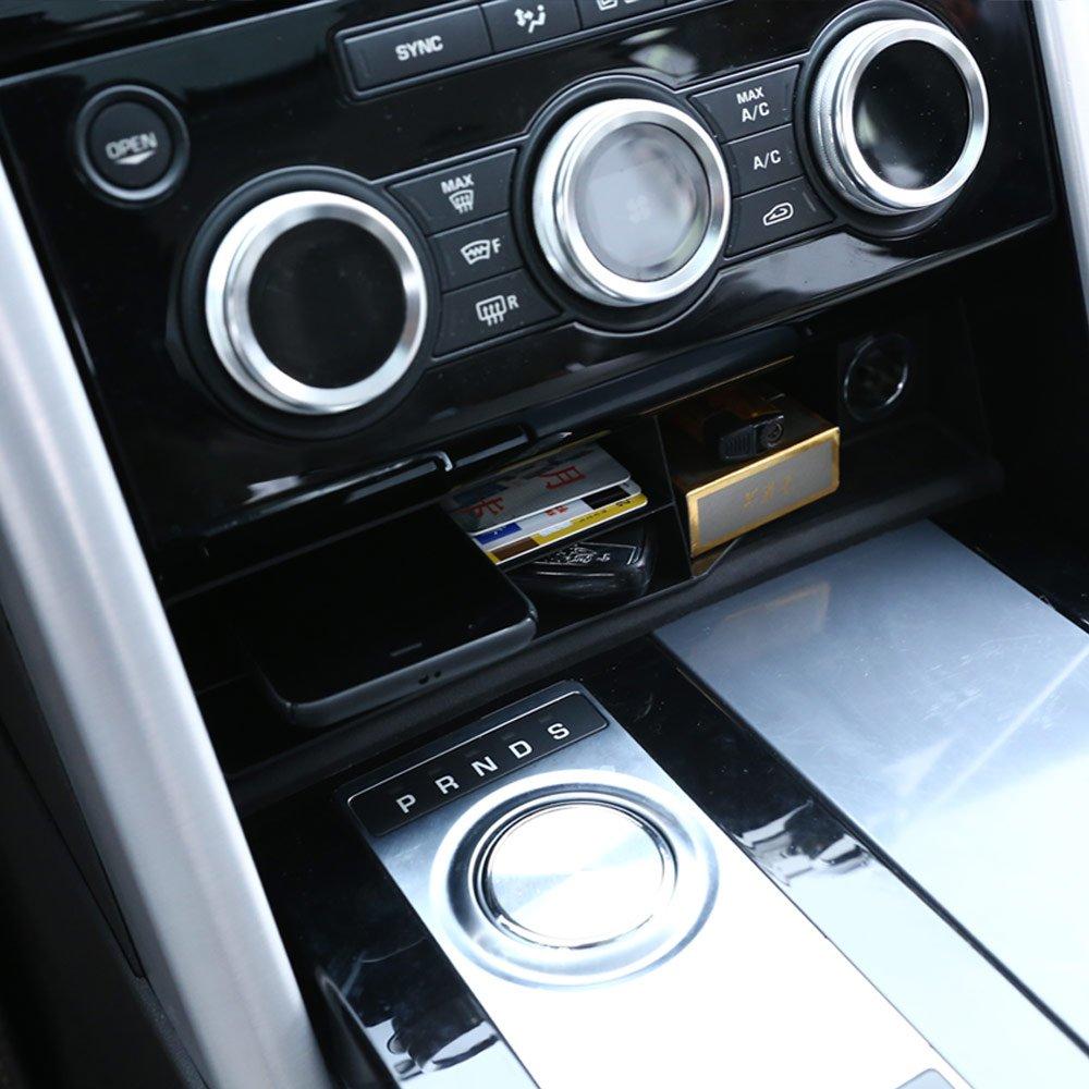 Per LR5/Discovery 5/2017/car-styling plastica centrale console multifunzione Storage box del vassoio di
