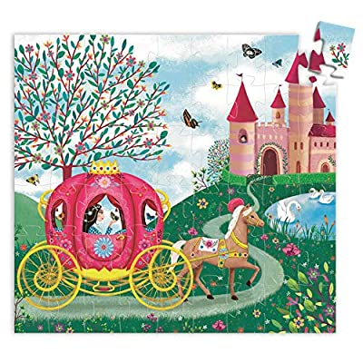 DJECO Elise's Carriage Silhouette Jig Saw Puzzle: Varios: Toys & Games
