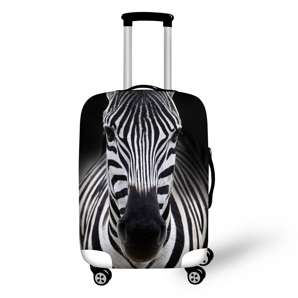 Coloranimal Spandex Elastic Suitcase Luggage Protective Cover Fit 18 20 22 Trolley Case, Parrot K-3160S