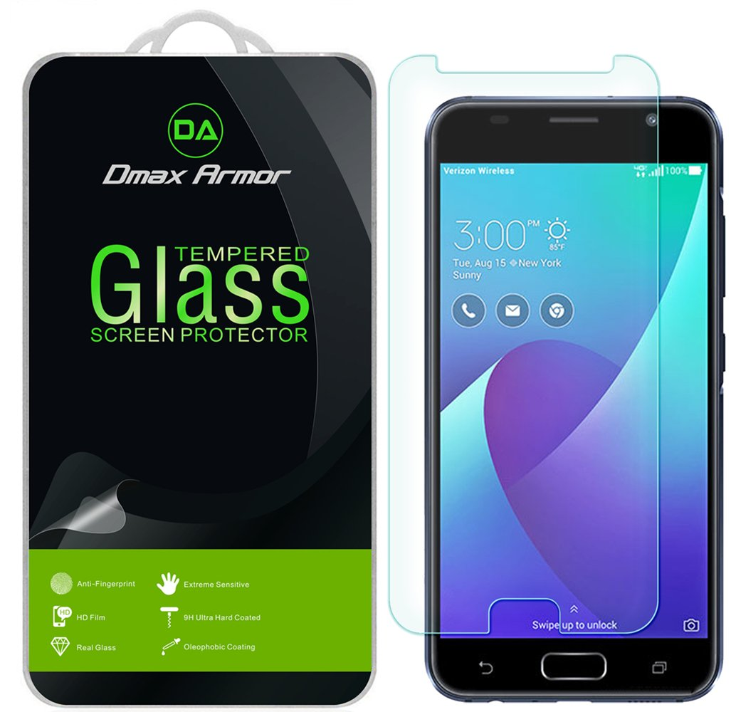 [2-Pack] Dmax Armor for Asus ZenFone V [Tempered Glass] Screen Protector