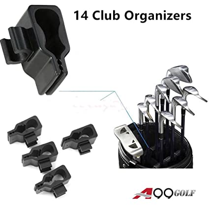 Amazon.com: A99 Golf 14 Club Holder Organizar tus hierros ...